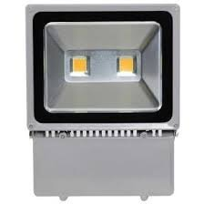 100 Watt LED Waterproof Flood Light Fixture Warm White