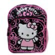 New Sanrio Hello Kitty Black/ Pink Mini Backpack with Bow School Bag (JoyAve) -