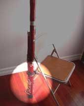 Hodge CBM-HODGE Bassoon Minder Chair Clip by Hodge