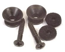 Peavey Guitar Strap Buttons - Peavey Guitar Strap Buttons (Black)