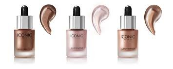 ICONIC LONDON Illuminator Combo of Three Shades 1.0 Shine 2.0 Original And 3.0 Glow Face Make-up at amazon
