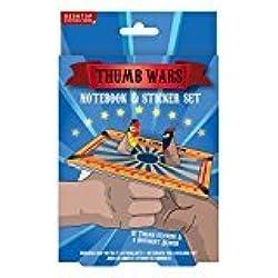 Thumb Wars - Notebook & Sticker Set