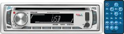 BOSS AUDIO MR648S Marine Single-DIN CD/MP3 Player Receiver, Detachable Front Panel, Wireless Remote by BOSS Audio