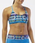 TYR Boca Chica Reef Knot Top, Large, Coral