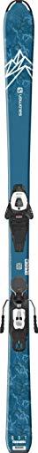 SALOMON QST Max Jr Medium Skis w/L6 GW Bindings Kid's
