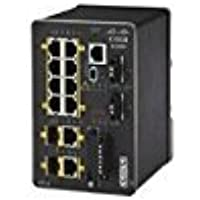 Cisco IE-2000-8TC-G-E Ethernet Switch - 10 Ports - Manageable - 8 x RJ-45 - 2 x Expansion Slots - 10/100Base-TX - Rail-mountable, Desktop