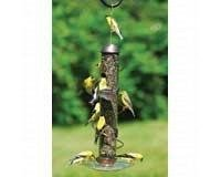 (Songbird Essentials 17in Copper Spiral Sunflower Feeder)