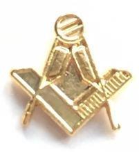 Dé coupe de poche Motif maç onnique Compas é querre Crest-Gifts É pinglette é maillé e Emblems-Gifts