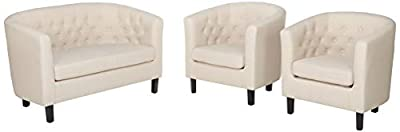Modway Prospect Upholstered Contemporary Modern Armchair
