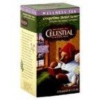 Celestial Seasonings Throat Tamer Herb Tea, 20 Tea Bags per Box (Pack of 3 Boxes)