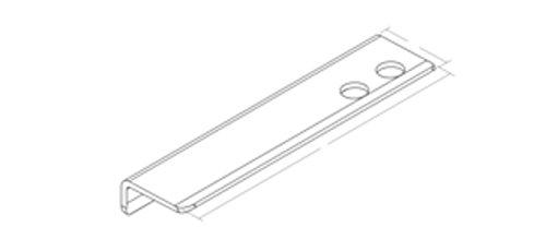KOHLER K-97622-BNK Choreograph 14'' Floating Shower Shelf, Anodized Brushed Nickel by Kohler (Image #1)