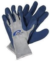 American Maple Inc Promar Blue Latex Grip Glove XLarge #GL-200XL