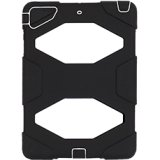 Black/White Survivor Case + Stand for iPad Air