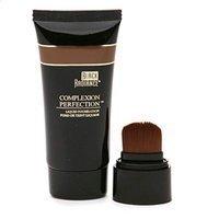 Black Radiance Complexion Perfection Liquid Foundation, Coffee Glaze, 1 fl oz by Black Radiance Cosmetics