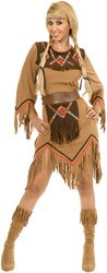 Sacajawea Indian Maiden Adult Costume - Large PROD-ID : (Sacajawea Indian Maiden Costumes)