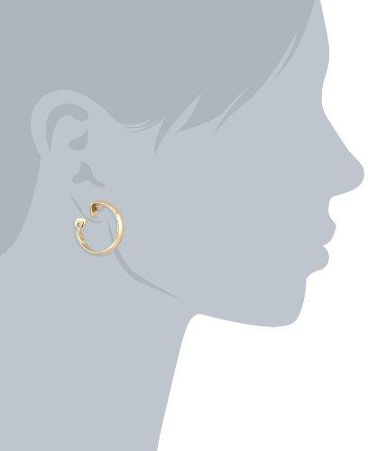 "Napier ""Napier Classics"" Gold-Tone Polished Clip Earrings"