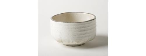 Aiya A-02002 Matcha Bowl Pure White, 41/2 WidthX 23/4 Height
