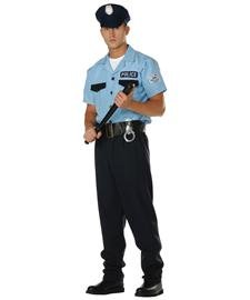 Cop Costume Male (On Patrol -, Adult Size (40-42) Costume)