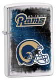 Zippo St. Louis Rams Brushed Chrome Lighter