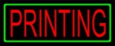 Printing Neon Sign 13 x 30 - X Sign 13 30 Neon