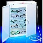 Sellstrom 90494 Eyewear Germicidal Cabinet, 8 Shelves; 110 VAC