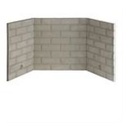 "Buy Refractory Brick Liner Kit for Fireplace and Firebox - 36"": Fireplace Screens - Amazon.com ? FREE DELIVERY possible on eligible purchases"