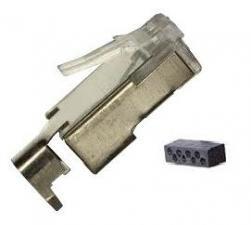 Av Solutions (Liberty-AV-Solutions Category 6 shielded 8P8C RJ45 Plug with 360 degree shielding Package)