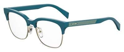 Eyeglasses Moschino Mos 519 0ZI9 Transparent Teal Tea