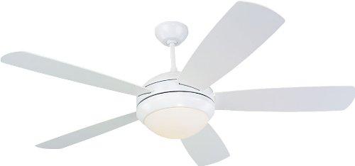 monte-carlo-5di52whd-l-discus-52-ceiling-fan-white
