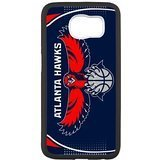 Atlanta Hawks 3 Custom Phone Case Design for Samsung Galaxy S6 covers with Balck Laser (Samsung Galaxy Rug By)