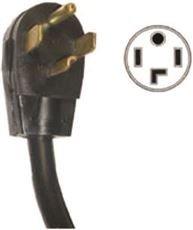National Brand Alternative 647484 Dryer and Range Cord 6', 5.174'' x 5.174'' x 5.174''