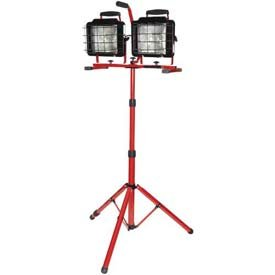 Bayco174; Twin Head Convertible Tripod Tower Halogen Work Light SL-1082, 10