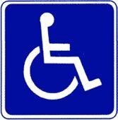 Handicap Symbol Decal Stickers