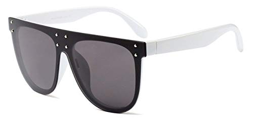 c020ae378 Image Unavailable. Image not available for. Colour: Hectare Buy 02: 2017 New  Brand Designer Fashion Women Sunglasses Oversize Female Flat Top Vintage