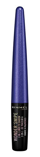 Rimmel Wonder Swipe 2-in-1 Liner To Shadow, Cool Af, 0.05 Fluid Ounce, 1 Count