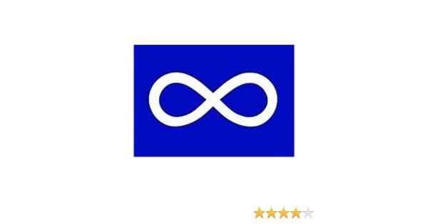 Amazon Metis Blue Native Infinity Large 3 X 5 Feet Flag Banner