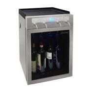 Vinotemp 4-Bottle Wine Dispenser, (Vinotemp Stainless Steel Chiller)
