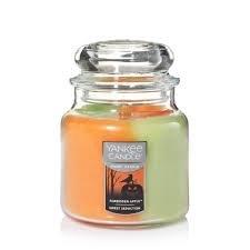 Yankee Candle Halloween Swirl Candle - Forbidden Apple / Sweet Seduction Swirls Candle -