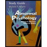 Abnormal Psychology, Doan, Robert, 0130871397