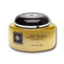 - Swisa Beauty Sensation Dead Sea Salt Mineral Treatment Natural - Dead Sea Scrubs For Hands, Elbows, Knees And Feet.