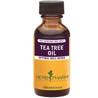 Tea Tree Oil, 4 Oz by Herb Pharm (Pack of 6)