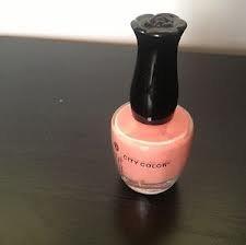 City Color Nail Polish - City Color Nail Polish Peach 0.3 Fl Oz
