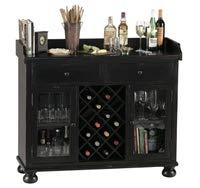Howard Miller 695-002 Cabernet Hills Wine & Bar Console by Howard Miller