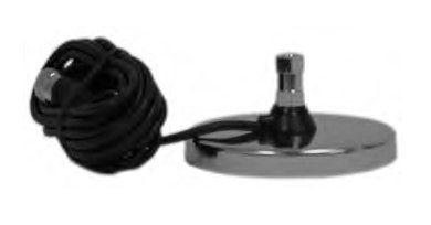 Accessories Unlimited AUMAG5 5 Inch Magnetic Mount with 12 Foot Cable by Accessories Marketing