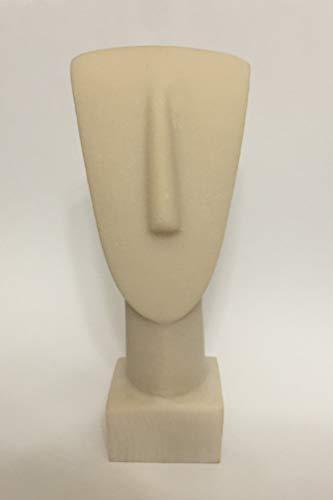 Doros Ancient Greece Hand Made Cycladic Head Aegean Civilization 5.5