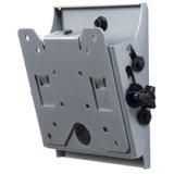 (Peerless Industries ST630-AW SmartMount Universal Tilt Wall Mount ST630 - Mounting kit ( adapter plate, tilt wall plate, security fasteners ) for LCD display - white - screen size: 10 inch - 24 inch - mounting interface: 100 x 100 mm, 75 x 75 mm - wall-mountable)