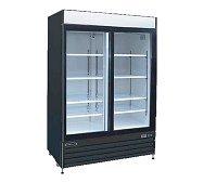 2 Glass Door Cooler Merchandiser 50 Cu Ft Kool-It KSM-50