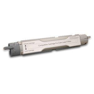Dell H7028 Compatible Remanufactured Black Toner Cartridge for 5100CN Color Laser Printer