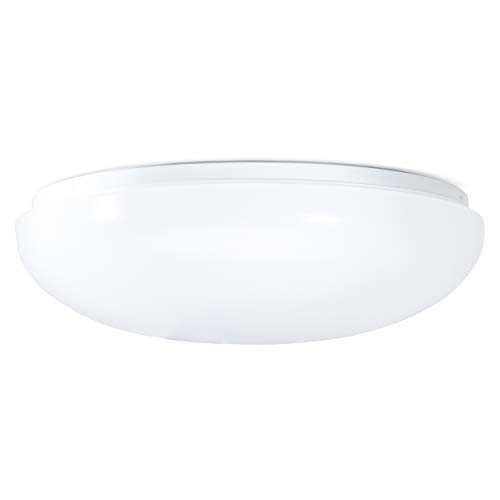 Diameter Ceiling Light - Green Beam LED Ceiling Light Fixture, Flush Mount Light Fixture, Kitchen Light Fixture, Lighting Fixtures, Bathroom Light Fixtures, Ceiling Lamp, Round Light Fixture. 11 Inch Dome, 15W, 4000K Natural