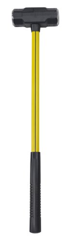 Nupla BD-8-24SG Blacksmiths Double Face Sledge Hammer with Classic Nuplaglas Handle and SG Long Grip, 24
